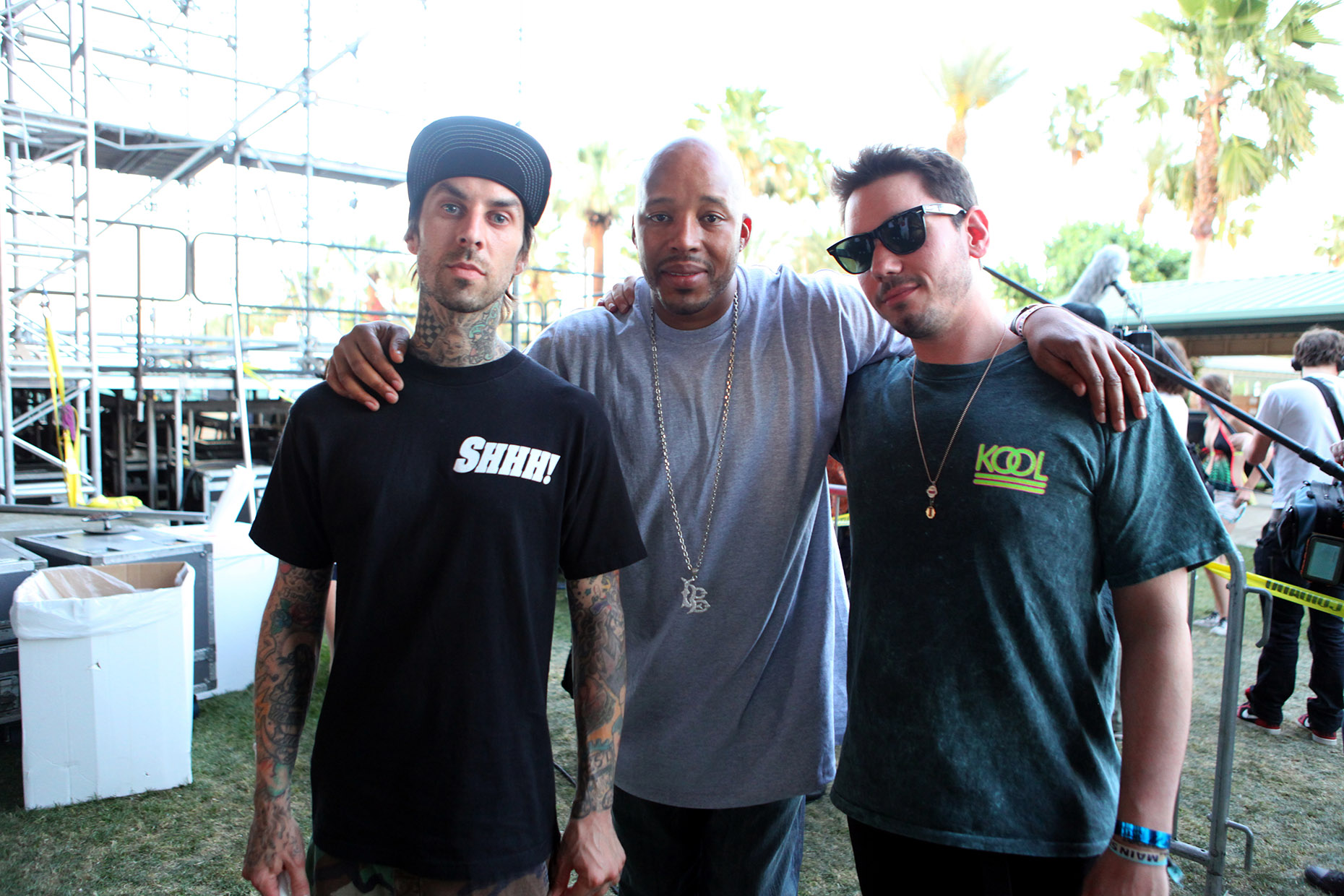 _9_Travis Barker, Warren G and DJ AM